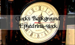 Clocks background brushes
