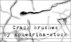 Crack brushes SET 1