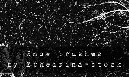 Snow brushes by ephedrina-stock