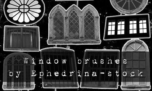 Window brushes by ephedrina-stock