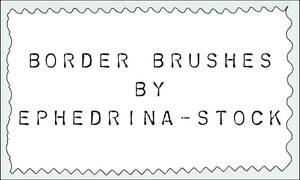 Border brushes by ephedrina-stock