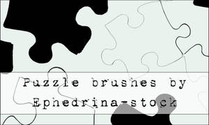 Puzzle brushes