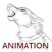Rusty Cage - Animation Howl WIP by TheDaylightWolf