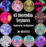 45 Incendia Textures by DeirdreReynolds