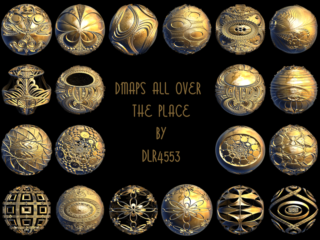 Dmaps All Over the Place by DeirdreReynolds