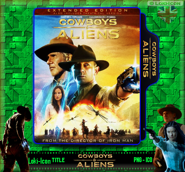 Cowboys And Aliens 2011 Extended Cut By Loki Icon On Deviantart