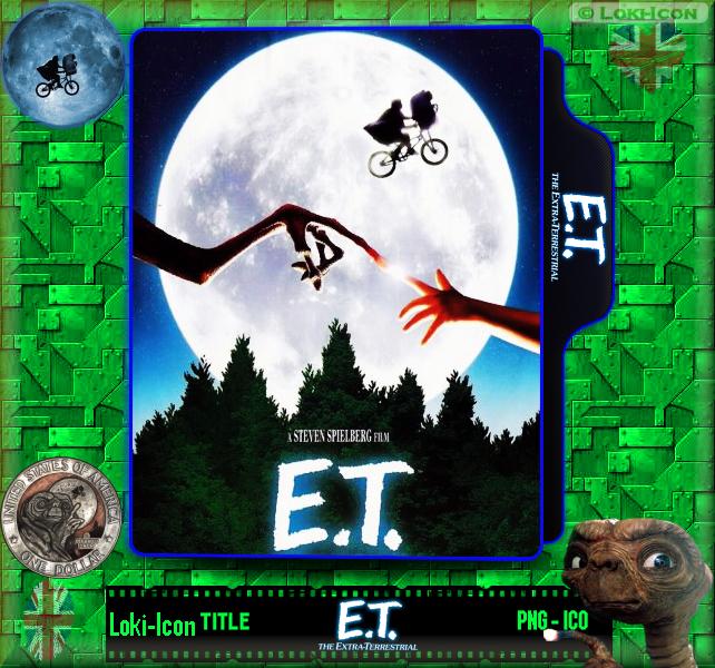 E T The Extra Terrestrial 1982 By Loki Icon On Deviantart