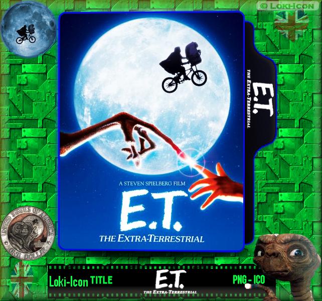 E T The Extra Terrestrial 1982 1 By Loki Icon On Deviantart