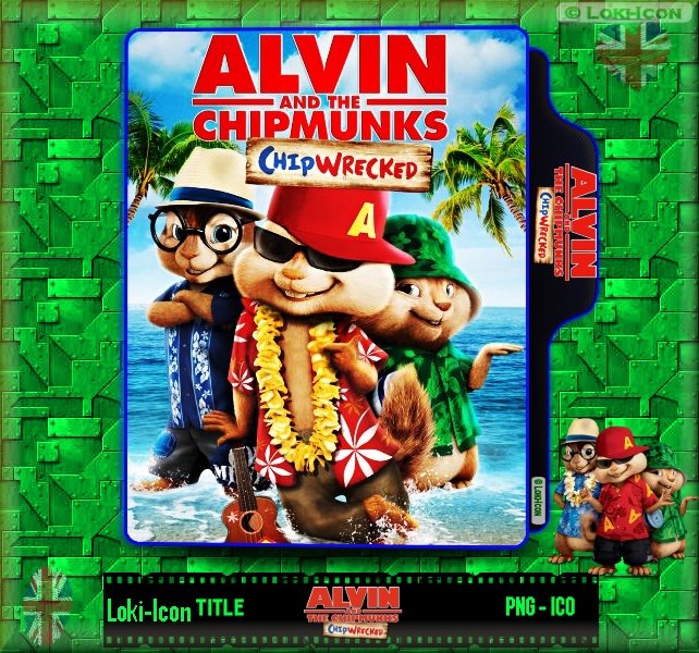 Alvin And The Chipmunks Chip Wrecked 2011 By Loki Icon On Deviantart