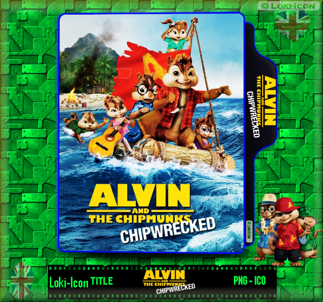 Alvin And The Chipmunks Chip Wrecked 2011 1 By Loki Icon On Deviantart