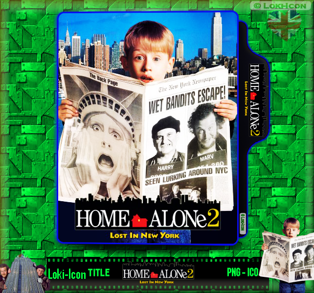 Home Alone 2 Lost In New York 1992 1 By Loki Icon On Deviantart