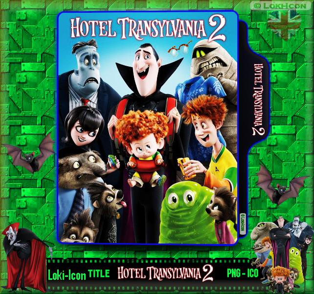 Hotel Transylvania 2 2015 By Loki Icon On Deviantart