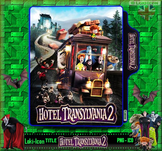 Hotel Transylvania 2 2015 1 By Loki Icon On Deviantart