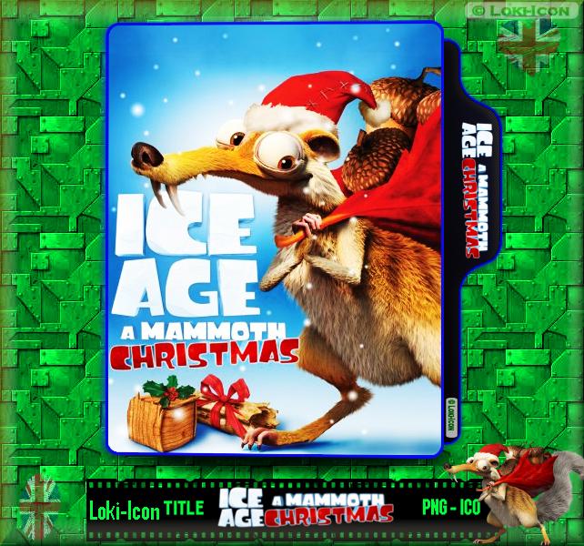 ice age a mammoth christmas 2011 by loki icon - Ice Age Mammoth Christmas