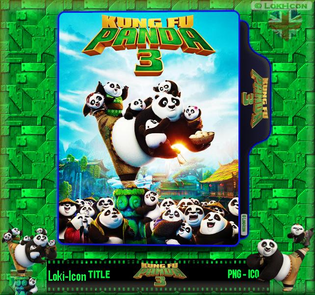 Kung Fu Panda 3 2016 By Loki Icon On Deviantart
