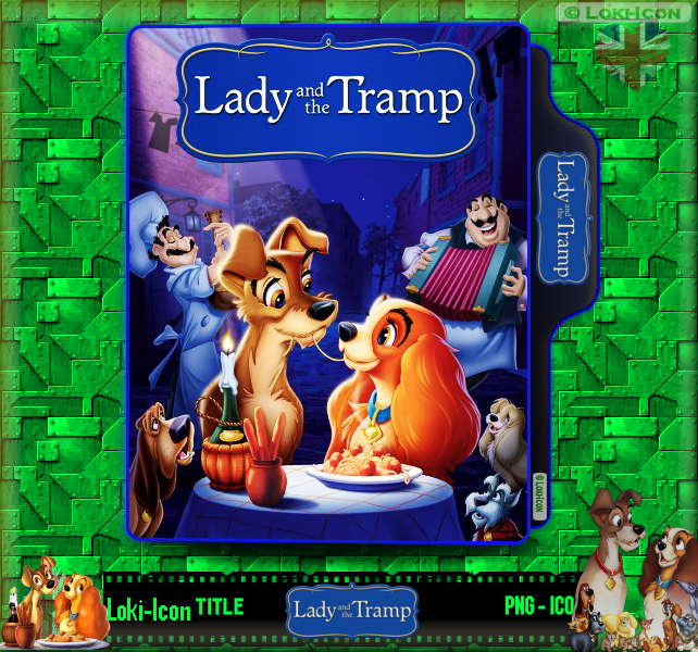 Lady And The Tramp 1955 By Loki Icon On Deviantart