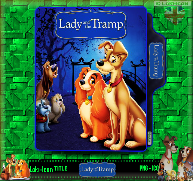 Lady And The Tramp 1955 1 By Loki Icon On Deviantart