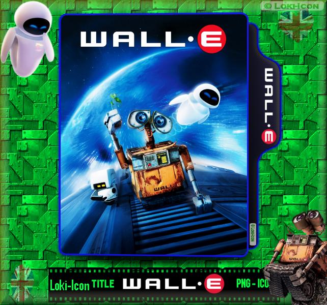 Wall E 2008 1 By Loki Icon On Deviantart