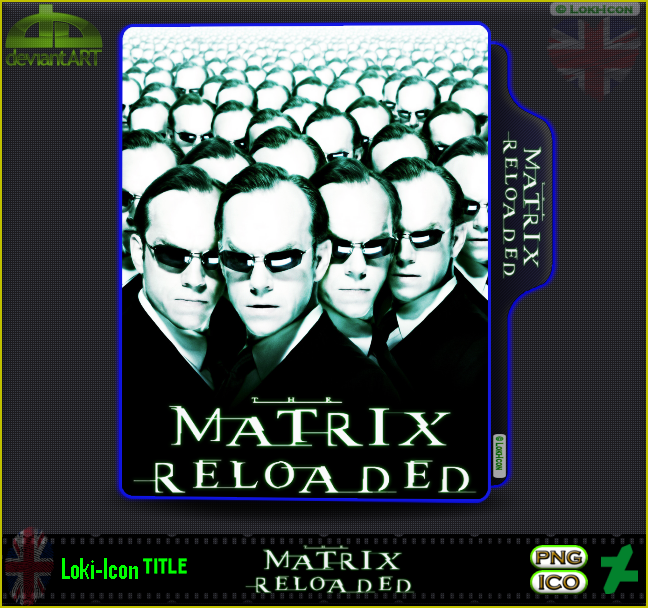 The Matrix Reloaded 2003 1 By Loki Icon On Deviantart
