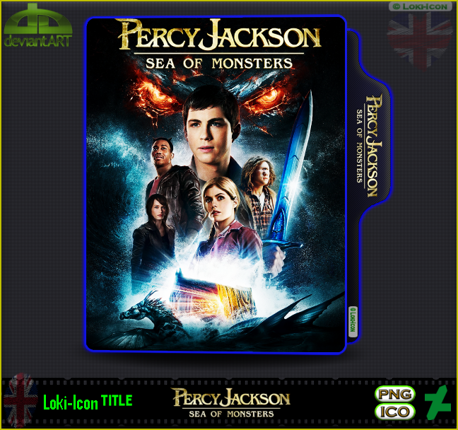 Percy Jackson Sea Of Monsters 2013 By Loki Icon On Deviantart