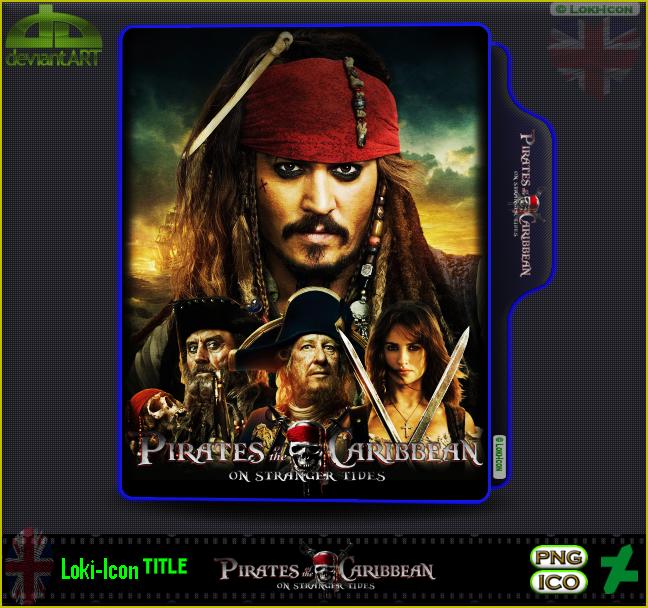 Pirates Of The Caribbean On Stranger Tides 2011 1 By Loki Icon On Deviantart