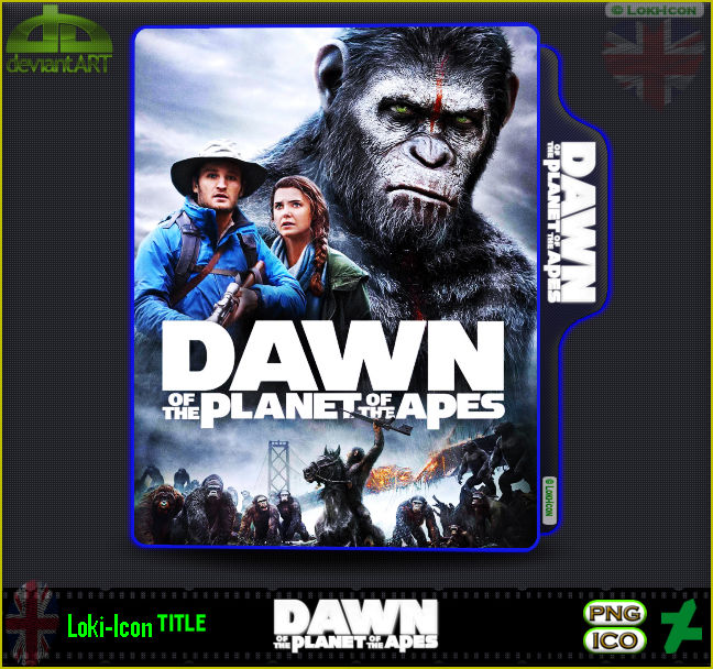 Dawn Of The Planet Of The Apes 2014 By Loki Icon On Deviantart