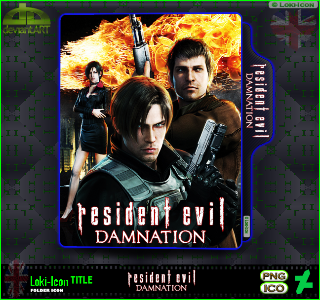 Resident Evil Damnation 2012 By Loki Icon On Deviantart