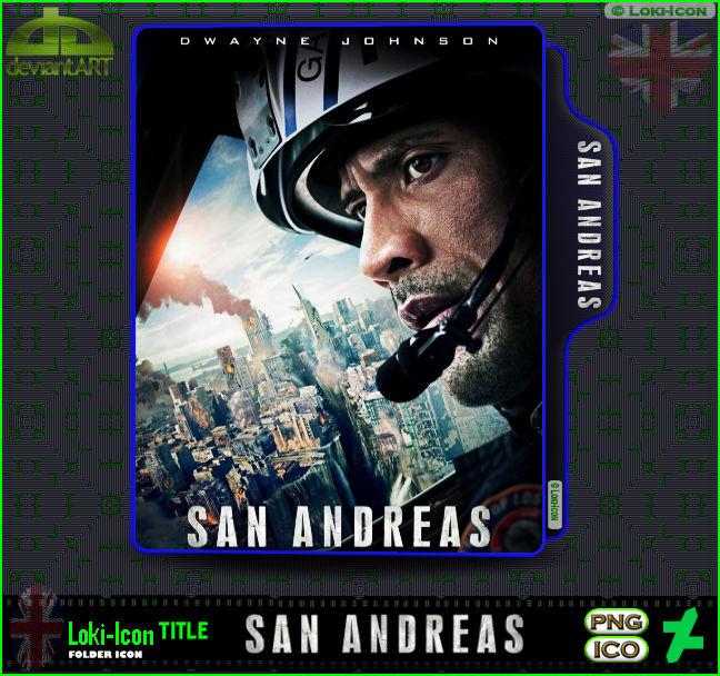 San Andreas 2015 By Loki Icon On Deviantart
