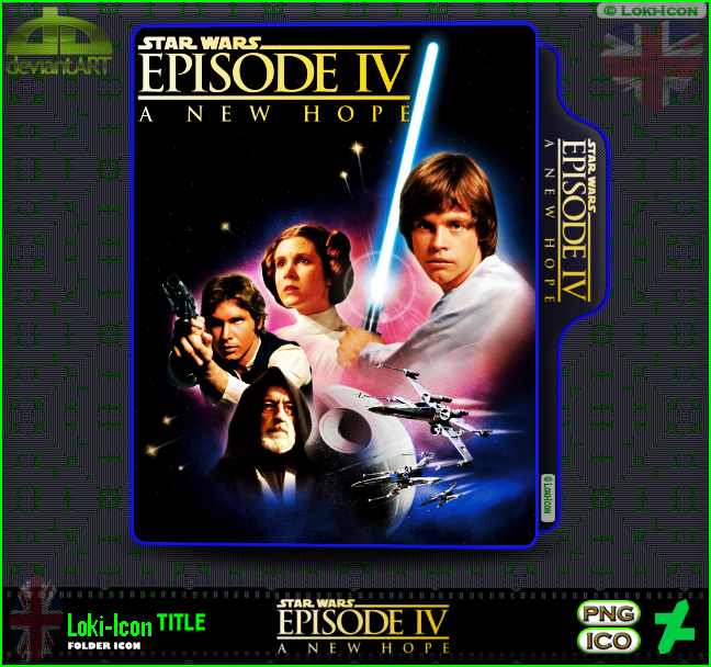 Star Wars Episode Iv A New Hope 1977 1 By Loki Icon On Deviantart