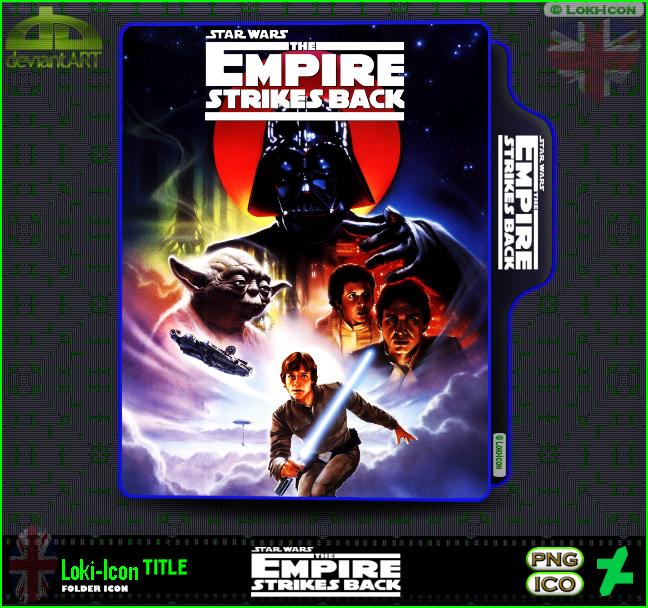 Star Wars Episode V The Empire Strikes Back 1980 2 By Loki Icon On Deviantart