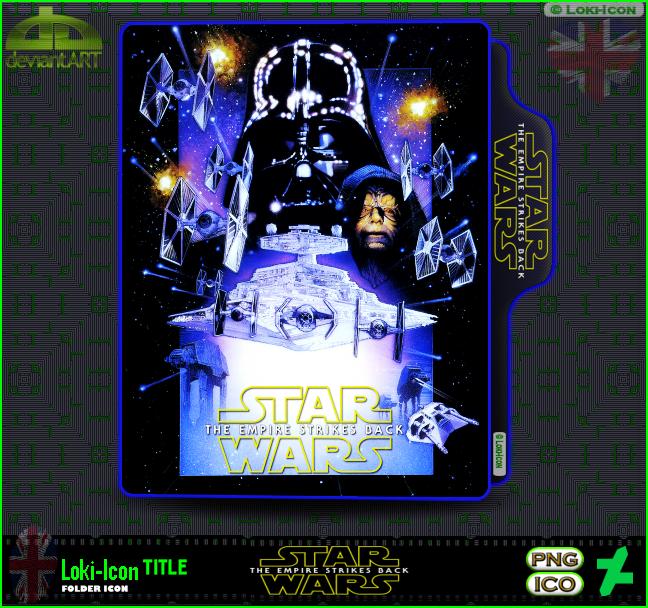 Star Wars Episode V The Empire Strikes Back 1980 3 By Loki Icon On Deviantart