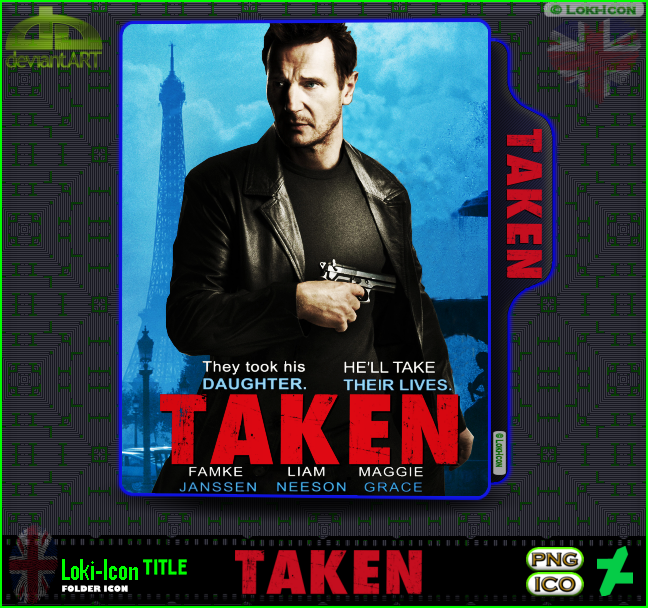 Taken 2008 1 By Loki Icon On Deviantart