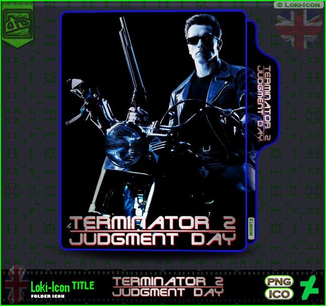 Terminator 2 Judgment Day 1991 3 By Loki Icon On Deviantart