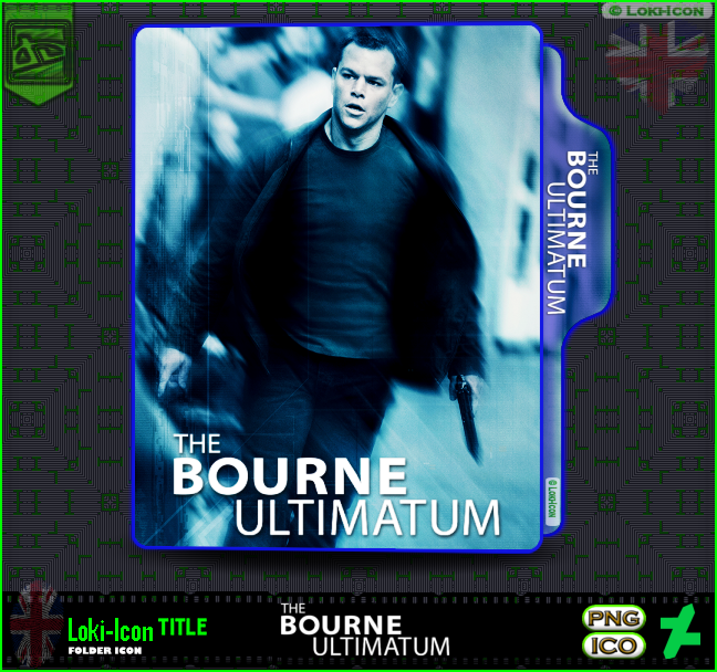 The Bourne Ultimatum 2007 By Loki Icon On Deviantart
