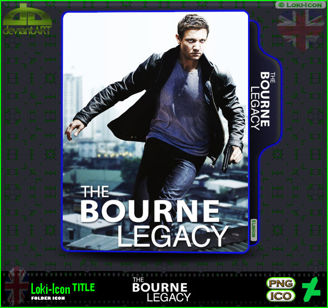 The Bourne Legacy 2012 By Loki Icon On Deviantart