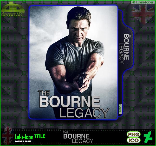 The Bourne Legacy 2012 1 By Loki Icon On Deviantart