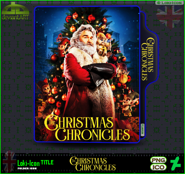 The Christmas Chronicles Poster.The Christmas Chronicles 2018 By Loki Icon On Deviantart