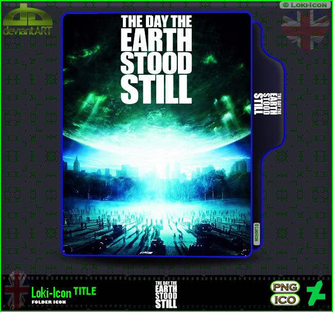 The Day The Earth Stood Still 2008 1 By Loki Icon On Deviantart