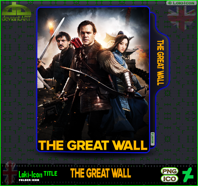 The Great Wall 2016 1 By Loki Icon On Deviantart
