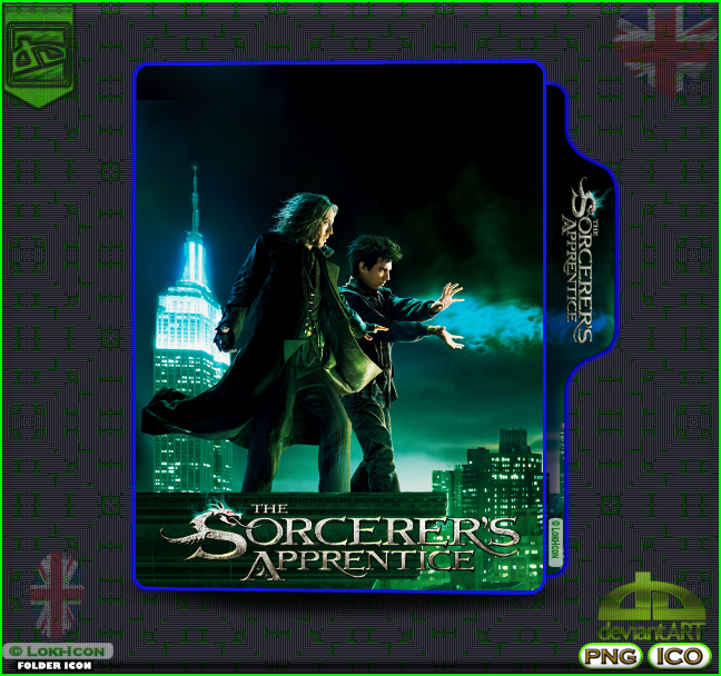 The Sorcerer S Apprentice 2010 2 By Loki Icon On Deviantart