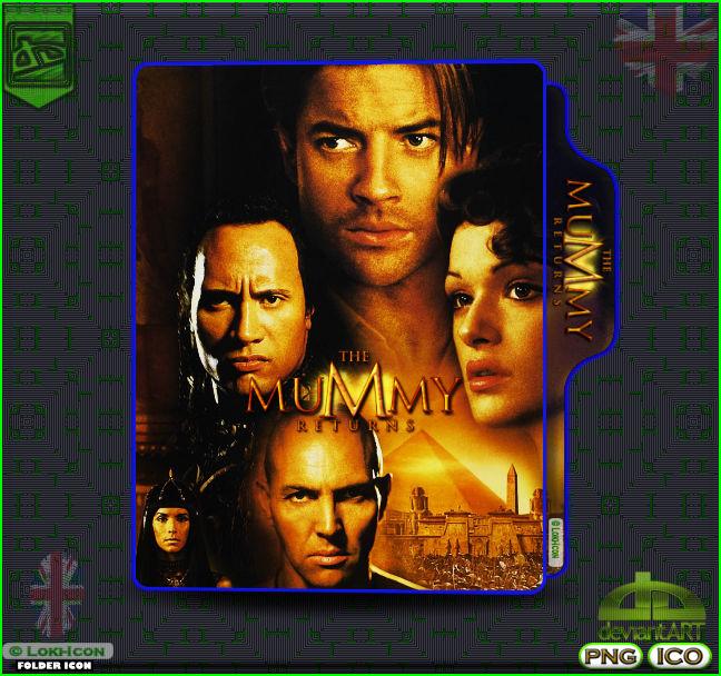 The Mummy Returns 2001 By Loki Icon On Deviantart