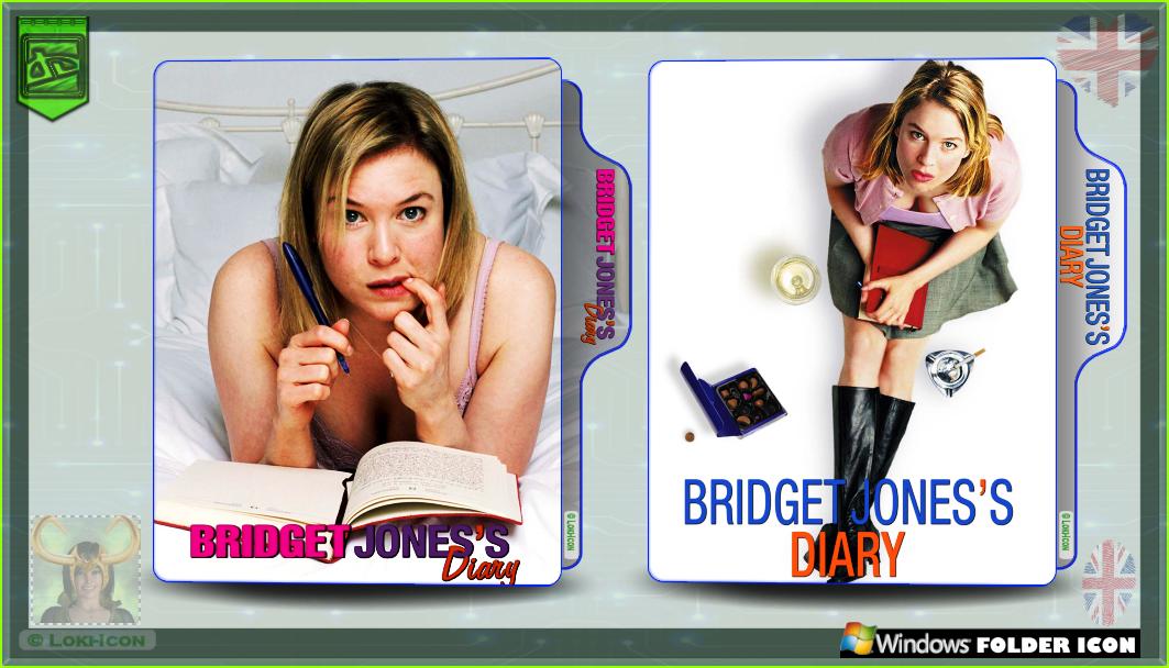 Bridget Jones S Diary 2001 By Loki Icon On Deviantart