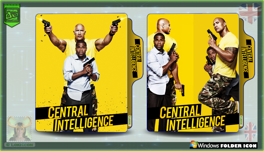 Central Intelligence 2016 By Loki Icon On Deviantart