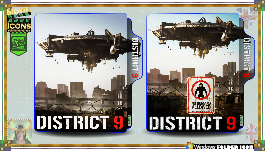 District 9 2009 By Loki Icon On Deviantart