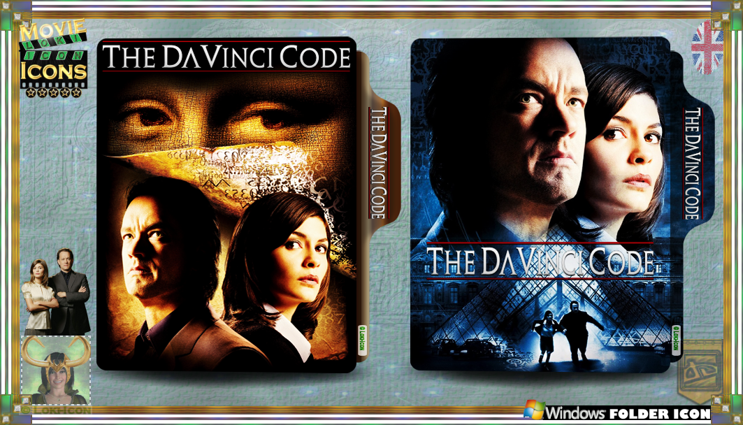 The Da Vinci Code 2006 By Loki Icon On Deviantart
