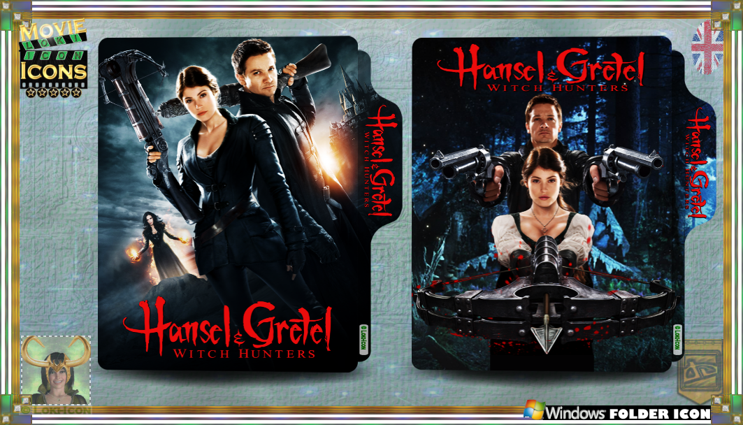 Hansel And Gretel Witch Hunters 2013 By Loki Icon On Deviantart