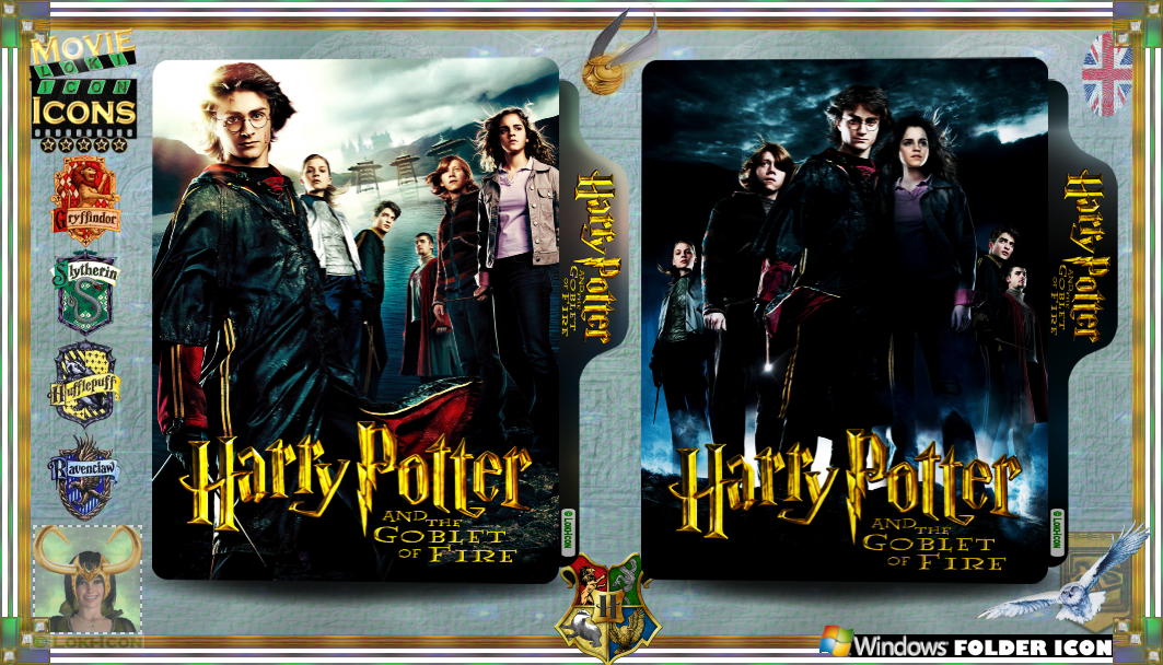 Harry Potter The Goblet Of Fire 2005 By Loki Icon On Deviantart