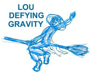 Lou's Defying Gravity ANAMATIC