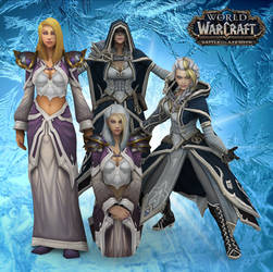 Lady Jaina Proudmoore (WoW) by Maxdemon6