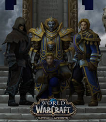 Anduin Wrynn (WoW) by Maxdemon6